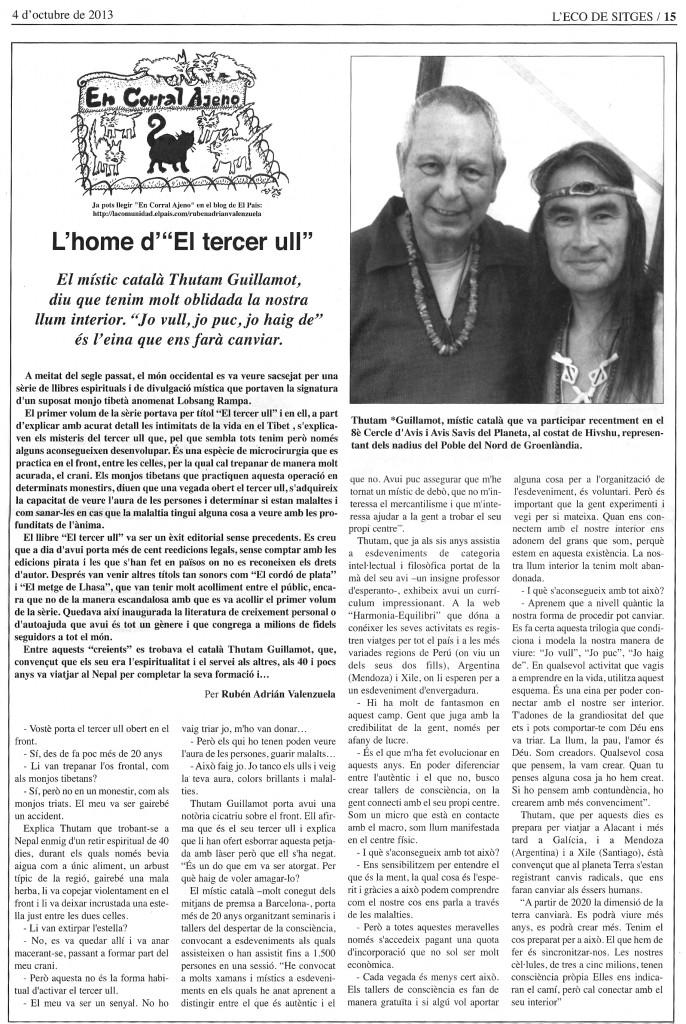 L'ECO de Sitges Thutam Guillamot