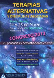 Terapias Alternativas 2012 (Dirigido por Thutam Guillamot).