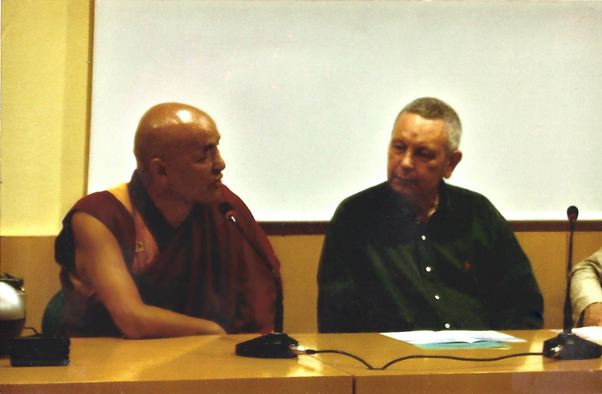 Thutam Guillamot y  Lama Thubten Wangchen