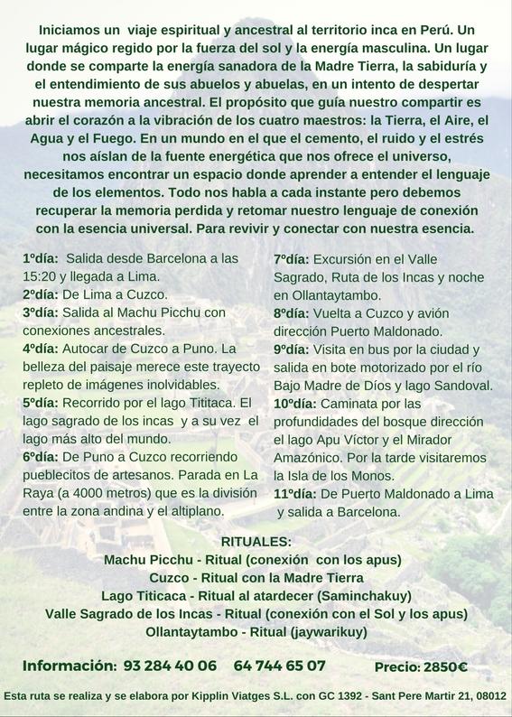 Viaje a Peru 2